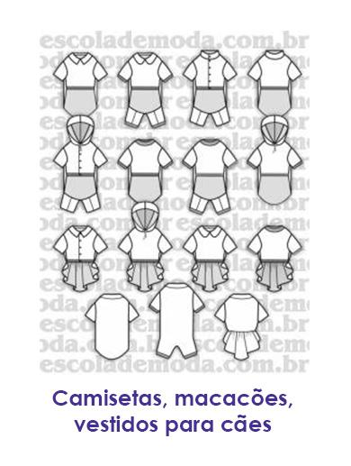 2b8806606 Escola de Moda Profissional- Moldes de Roupas para Cachorros